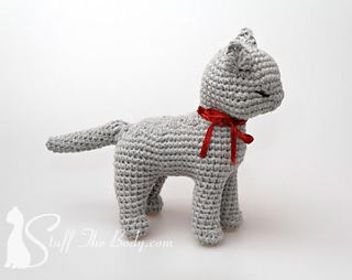 Amigurumi Kitten Patterns : Ravelry sandy the cat amigurumi pattern by stuffthebody