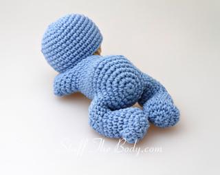 Crochet Amigurumi For Baby : Ravelry sleeping baby amigurumi pattern by stuffthebody