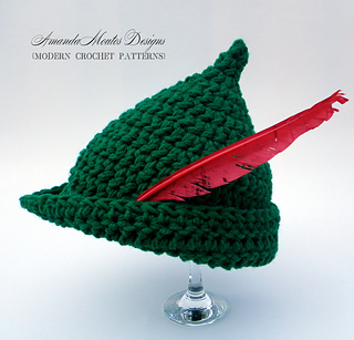 Ravelry  Peter Pan   Robin Hood Hat pattern by Amanda Moutos c1f6b21bcdd