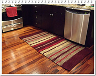 Ravelry: South Riding Kitchen Rug Pattern By Sun Fl0wer