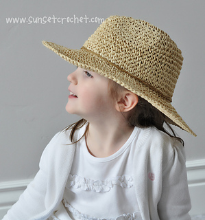 ebe579504a9 patterns   Bonnie Potter s Ravelry Store.   Wide Brimmed Straw Hat