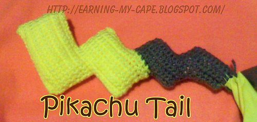 Ravelry Pikachu Hat And Tail Pattern By Susie Oui Crochet