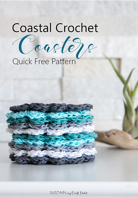Ravelry Easy Crochet Coasters Pattern By Jane Vranic And Sonja Stevens