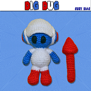 Ravelry Dig Dug Pattern By Suzy Dias