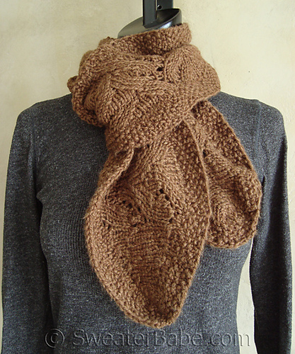 Ravelry 97 Chic Ruffled Edge Scarf Pattern By Sweaterbabe