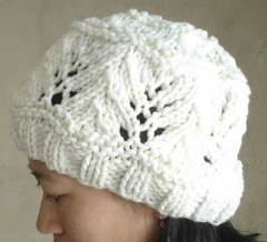 4a2cdc11e5a Ravelry   78 Vine Lace Hat pattern by SweaterBabe