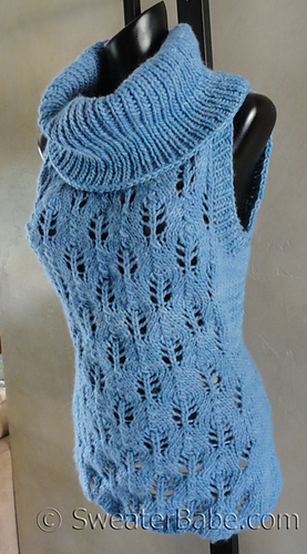 Ravelry 126 Malabrigo Sleeveless Cowl Neck Sweater Pattern By