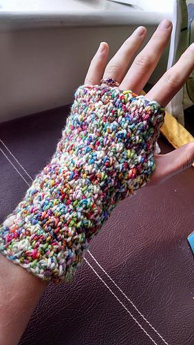 Ravelry Warm Simple Fingerless Gloves Pattern By Kathryn Cottam