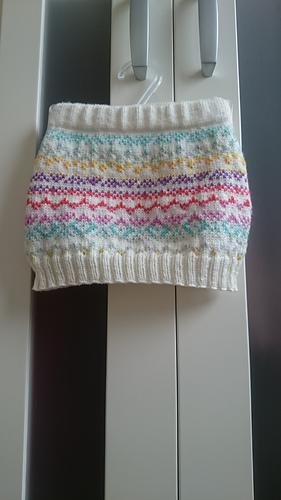Ravelry: Fair Isle Skirt pattern by Sweet Apple Designs