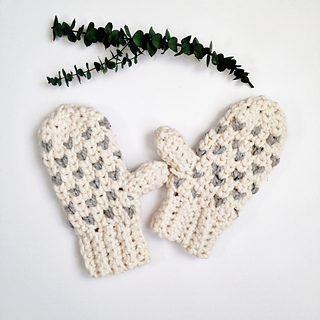 d1269b1a9 Chunky Fair Isle Mittens pattern by Sierra Tosner