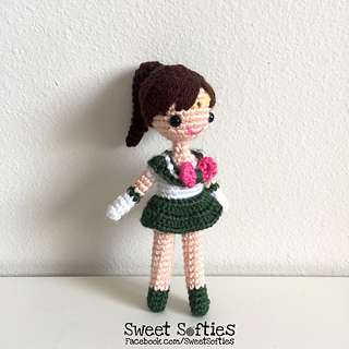 http://www.sweetsofties.com/2017/04/sailor-jupiter-amigurumi-crochet-doll.html