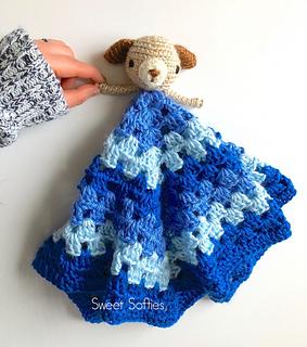 http://www.sweetsofties.com/2017/12/puppy-lovey-free-crochet-pattern.html