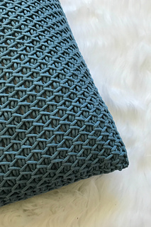Ravelry Cottage Throw Pillow Tunisian Crochet Pattern