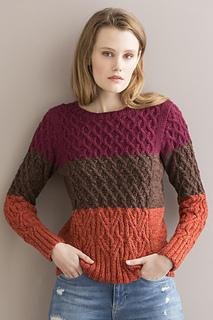 6bbfb37988f37b Ravelry  Joie de Vivre Pullover pattern by Joan Forgione