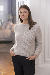 Beacon Moss & Cable Pullover PDF
