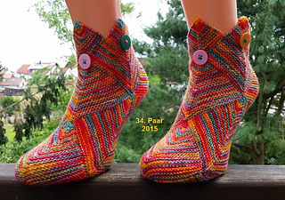 Ravelry Patchworksocken Patchis Pattern By Angela O