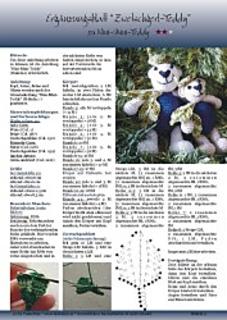 Ravelry Mini Zwetschgerl Teddy Pattern By Martina Lackner