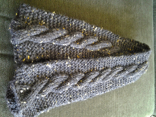 Simple Cable Scarf Pattern By Patons Ravelry