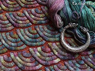 Jewel Dragon pattern by Svetlana Gordon