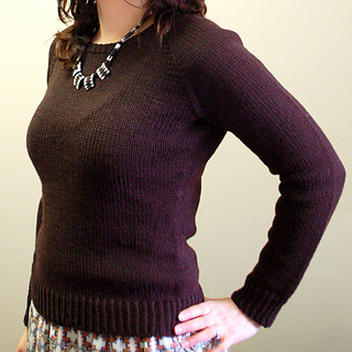 804f18c25a1d Ravelry  Ladies Classic Raglan Pullover pattern by Jane Richmond