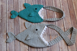 73be6263f7cf Ravelry  Shark Bag pattern by Erin Sharp