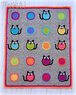 Cat Lover Blanket Free Pattern