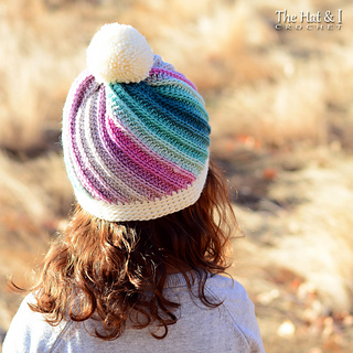 10f9c3b5603 Ravelry  Twist Top Beanie pattern by Marken of The Hat   I