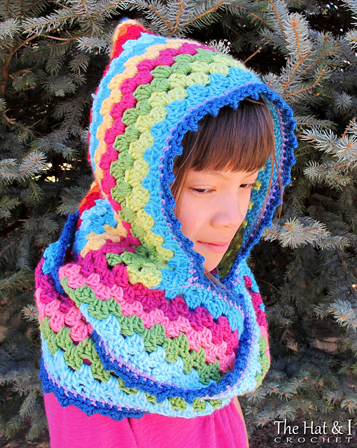 Ravelry Harlequin Hoodie Pattern By Marken Of The Hat I