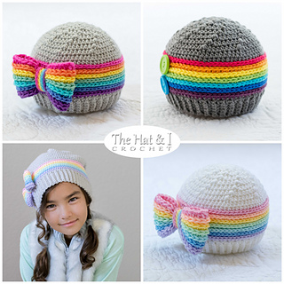 a15e29c7e5d Ravelry  Rainbow Reflections Hat pattern by Marken of The Hat   I