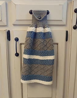 Ravelry Hand Towel Kitchen Towel Cottage Style Pattern By The