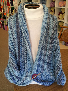 Ravelry Crochet Marble Chunky Shrug Pattern By The