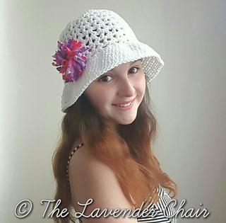 Ravelry valeries summer sun hat pattern by dorianna rivelli dt1010fo