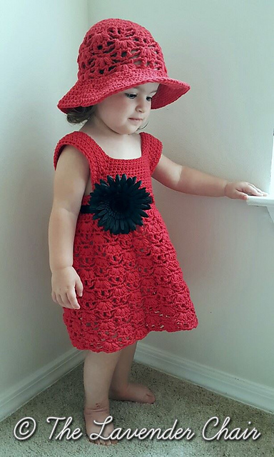 635f7ae76 Ravelry  Weeping Willow Toddler Dress pattern by Dorianna Rivelli