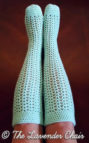 Ravelry Valerie S Knee High Socks Pattern By Dorianna Rivelli