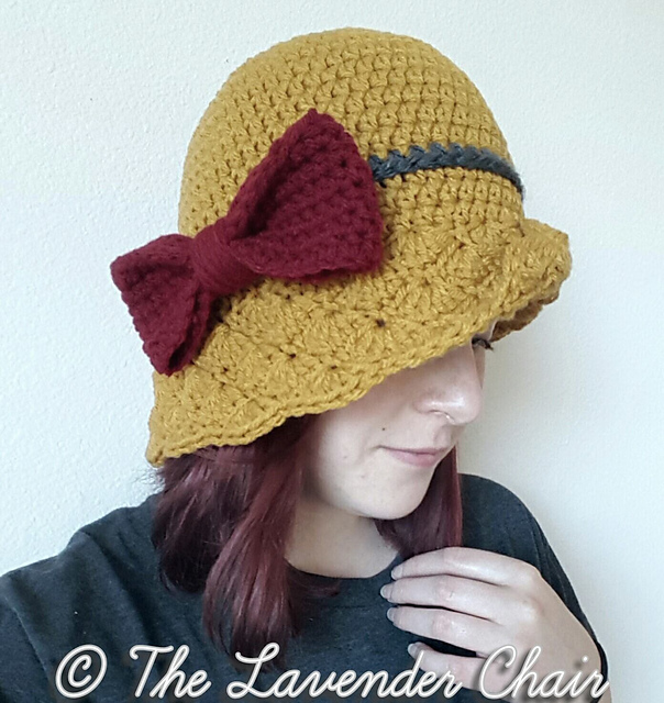 Ravelry Simple Shells Cloche Hat Pattern By Dorianna Rivelli