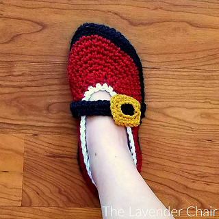 Ravelry Mrs Claus Ballet Slippers Pattern By Dorianna Rivelli