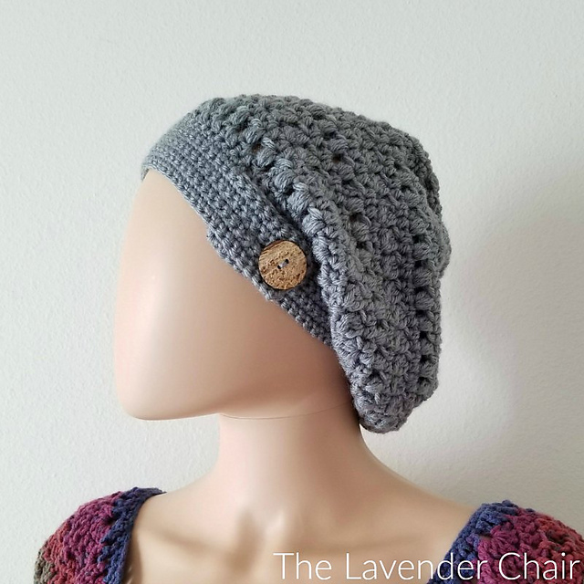 Candaceu0027s Cluster And Puff Slouchy Beanie ...