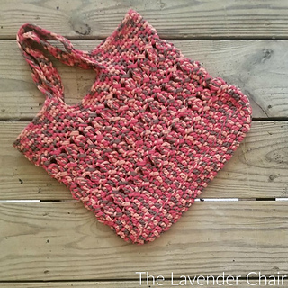 Charming Crossed Bobble Tote ...