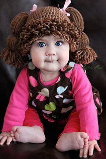 Ravelry  Cabbage Patch Kid Inspired Hat pattern by Amanda Lillie 1e93ad99ca9