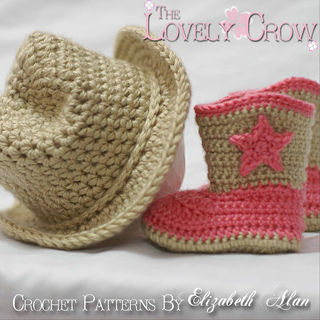 Ravelry Cowboy Hat And Boots Set Pattern By Elizabeth Alan