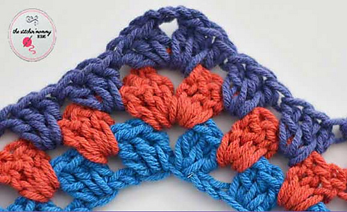 Granny Ripple Stitch Tutorial: Ravelry: Granny Ripple Stitch Tutorial Pattern By Amy