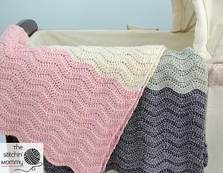 Amigurumi Vivi Free Patterns : Ravelry: vivis color block ripple afghan pattern by amy ramnarine