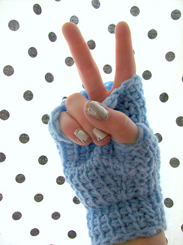 Ravelry Tunisian Fingerless Gloves Pattern By Tracey Mcdowell