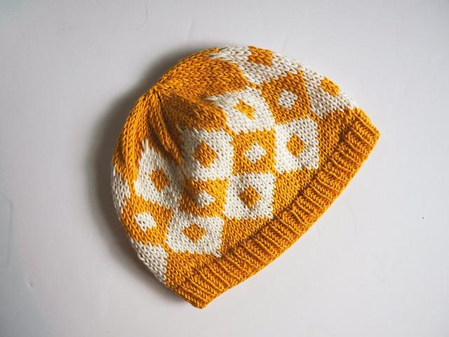 Elliot Hat par Solène Le Roux tuque tricotée