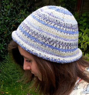 Ravelry Rolled Brim Beanie Hat Pattern By The Stitch Sharer