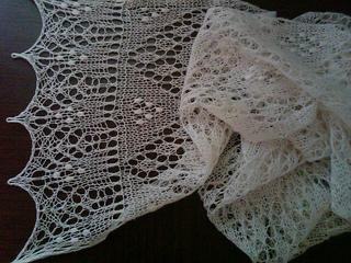 Sofia Scarf pattern by Irina Haller