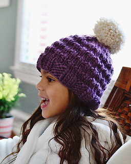 914b8cb22dfbae Ravelry: Snow Day Cozy hat pattern by Tif Neilan ↞ tif handknits ↠
