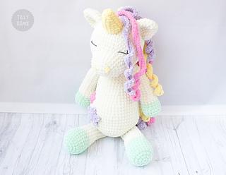 Ravelry Big Plush Unicorn Pattern By Natalya Birina