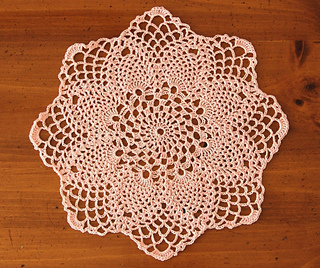 Ravelry Pineapples Large And Small Doily Set Pattern By