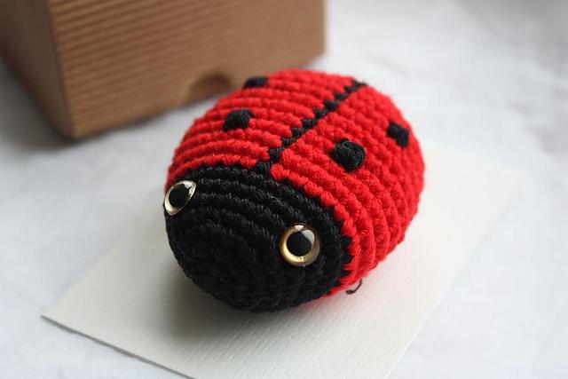 Ravelry Amigurumi Ladybug Pattern By Happyamigurumi